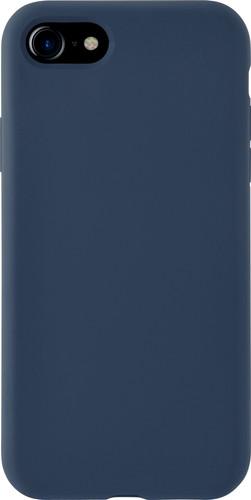 Azuri Apple iPhone SE 2 / 8 / 7 / 6 / 6s Back Cover Siliconen Blauw Main Image