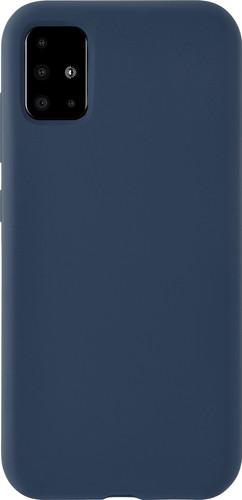 Azuri Samsung Galaxy A71 Back Cover Siliconen Blauw Main Image