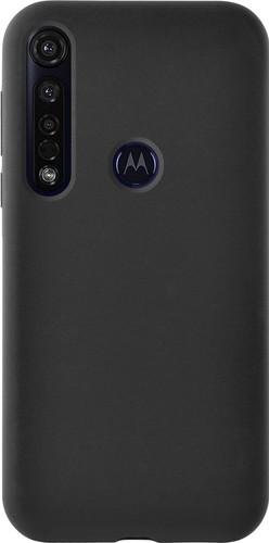 Azuri Motorola Moto G8 Plus Back Cover Siliconen Zwart Main Image