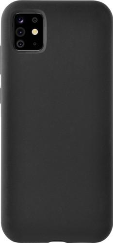 Azuri Samsung Galaxy Note 10 Lite Back Cover Siliconen Zwart Main Image