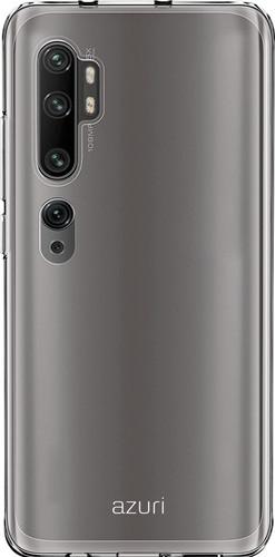 Azuri TPU Xiaomi Mi Note 10 / 10 Pro Back Cover Transparant Main Image