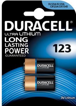 Duracell Ultra Lithium 123-batterij 3V 2 stuks Main Image
