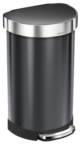 Simplehuman Liner Pocket Half Rond 45 liter Zwart Main Image