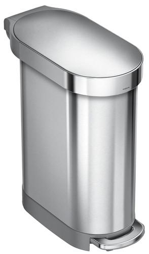 Simplehuman Slim 45 liter Metaal Main Image
