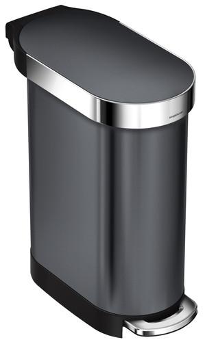 Simplehuman Slim 45 liter Zwart Main Image