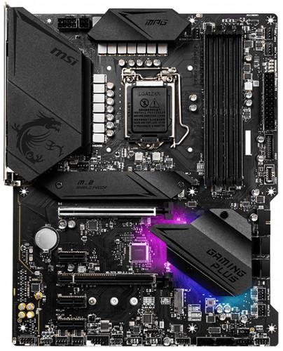 MSI MPG Z490 GAMING PLUS Main Image