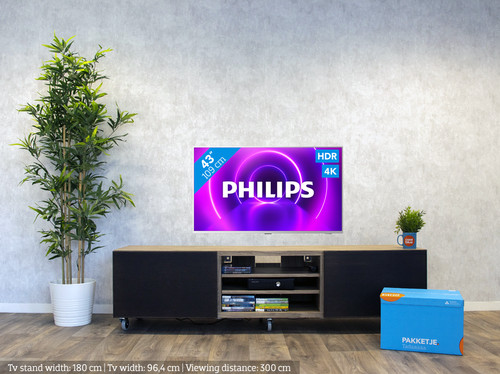 Philips The One (43PUS8505) - Ambilight (2020) visual Coolblue 1