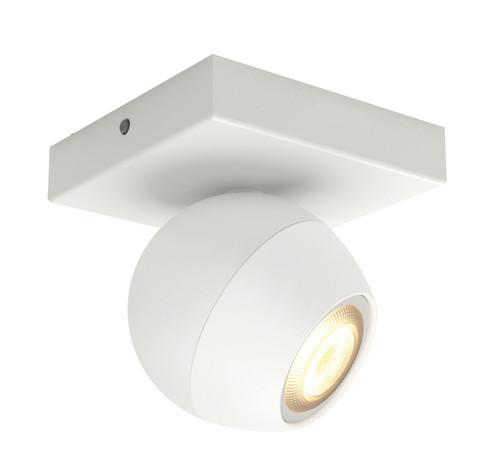 Philips Hue Buckram opbouwspot White Ambiance 1-lichts Wit Bluetooth Main Image