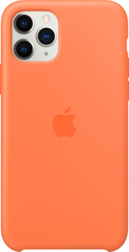 Apple iPhone 11 Pro Silicone Back Cover Vitamine C Main Image