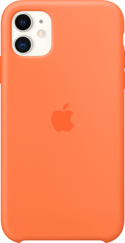 Apple iPhone 11 Silicone Back Cover Vitamine C Main Image