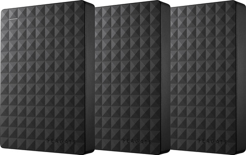 Seagate Expansion Portable 4TB 3-Pack Main Image