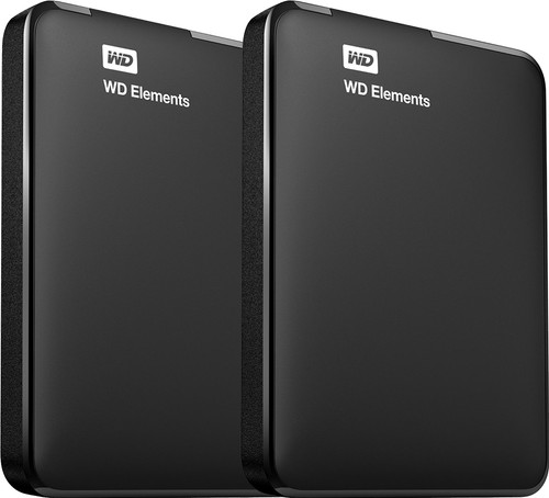 WD Elements Portable 1TB Duo-Pack Main Image