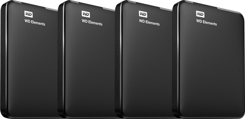 WD Elements Portable 5TB 4-Pack Main Image