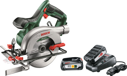 Bosch PKS 18 LI 1 + Bosch 18V 2,5 Ah Main Image