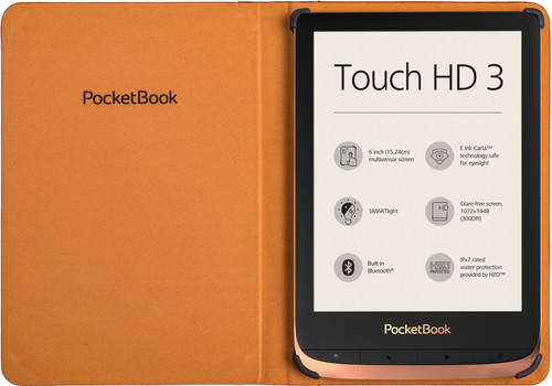 PocketBook Book Touch HD 3/Color/Touch Lux 4/5 Book Case Bruin Main Image