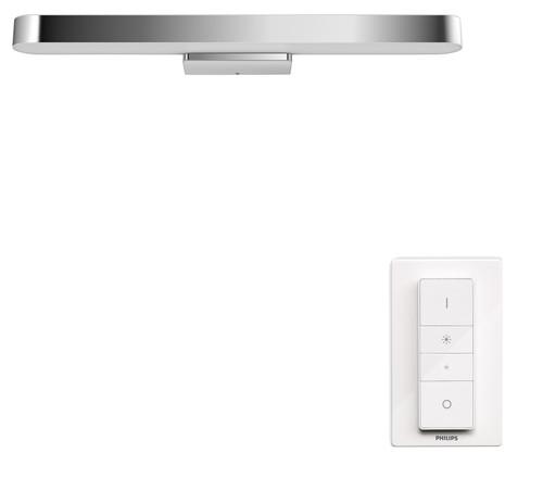 Philips Hue Adore Bathroom Mirror Light White Ambiance Chrome Main Image