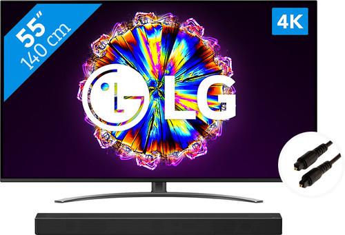 LG 55NANO816NA (2020) + Soundbar + Optische kabel Main Image