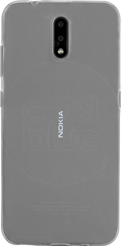 Just in Case Soft Design Nokia 2.3 Back Cover Transparant Main Image