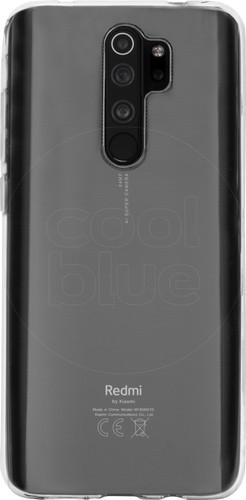 Just in Case Soft Design Xiaomi Redmi Note 8 Pro Back Cover Transparant Main Image