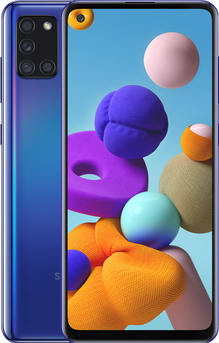 Samsung Galaxy A21s 32GB Blauw Main Image
