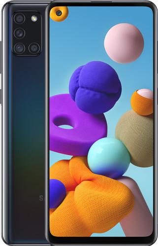 Samsung Galaxy A21s 32GB Zwart Main Image