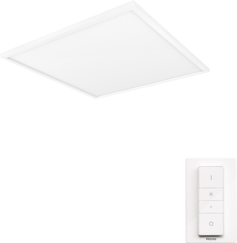 Philips Hue Aurelle plafondlamp White Ambiance vierkant - groot Main Image