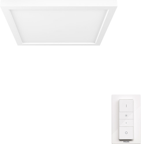 Philips Hue Aurelle Ceiling Lamp White Ambiance Square - Small Main Image