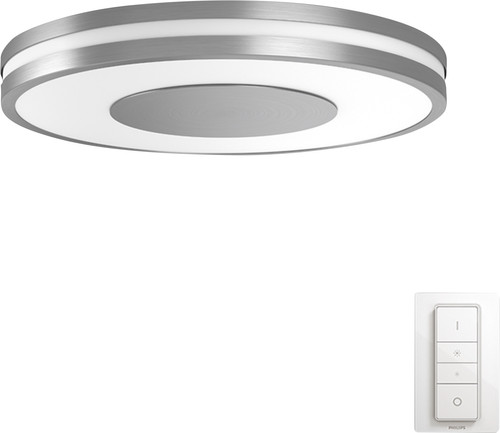Philips Hue Being Ceiling Lamp White Ambiance Aluminum Main Image