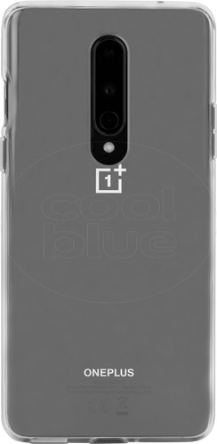 OnePlus 8 Bumper Back Cover Transparant Main Image