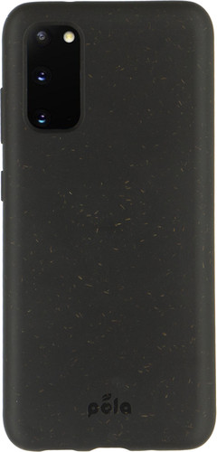 Pela Eco Friendly Samsung Galaxy S20 Back Cover Black Main Image