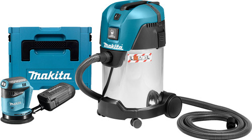 Makita DBO180ZJ (without battery) + Makita VC3011L Main Image