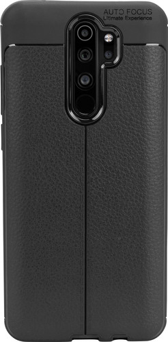 Just in Case Soft Design Xiaomi Redmi Note 8 Pro Back Cover Zwart Main Image