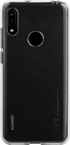 Just in Case Soft Design Huawei Y6 (2019) Back Cover Transparant Main Image