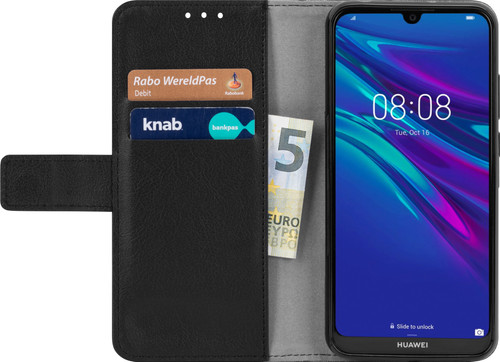 Just in Case Wallet Huawei Y6 (2019) Book Case Black Main Image