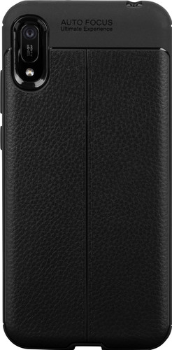 Just in Case Soft Huawei Y6 (2019) Back Cover Zwart Main Image