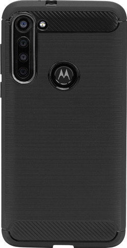 Just in Case Rugged Motorola Moto G8 Power Back Cover Black Main Image