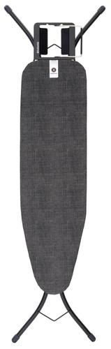 Brabantia Strijkplank A 110 x 30 cm Denim Black met strijkijzerhouder Main Image