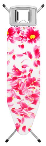 Brabantia Strijkplank B 124 x 38 cm Pink Santini met strijkijzerhouder Main Image