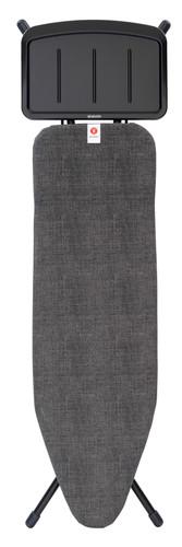 Brabantia Ironing Board 124x38cm Denim Black with Solid Steam Unit Holder Main Image