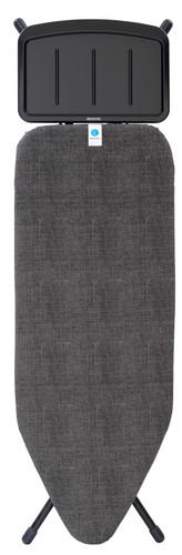 Brabantia Strijkplank C 124 x 45 cm Denim Black met solide stoomunithouder Main Image