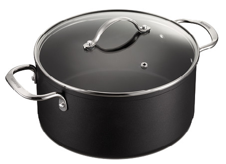 Brabantia Chrome Cooking Pot 24cm Main Image