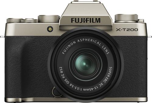 Fujifilm X-T200 Goud + XC 15-45mm f/3.5-5.6 OIS PZ Main Image