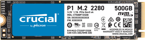 Crucial P1 SSD 500 GB Main Image