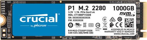 Crucial P1 SSD 1 TB Main Image