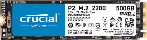 Crucial P2 SSD 500 GB Main Image