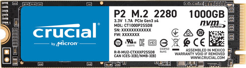 Crucial P2 SSD 1 TB Main Image