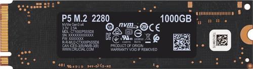 Crucial P5 SSD 1 TB Main Image