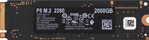 Crucial P5 SSD 2 TB Main Image