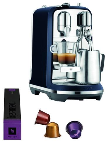 Sage Nespresso Creatista Plus SNE800DBL Damson Blue Main Image