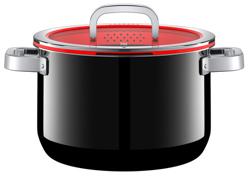 WMF FusionTec Functional Cooking Pot 24cm + Lid Black Main Image